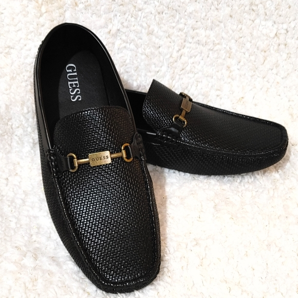 Guess Shoes | Mens Loafers Black | Poshmark